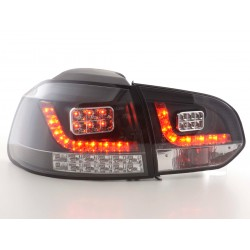 Golf 6 posteriori LED nero (con indicatori frecce LED)