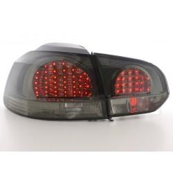 Golf 6 posteriori LED nero