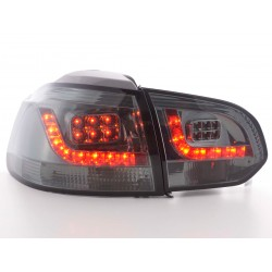 Golf 6 posteriori LED nero (tipo 1K)