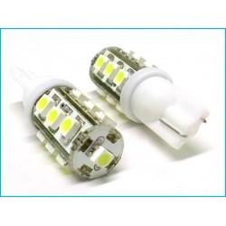Lampada Led T10 W5W 13 Smd Bianco Luci di Posizione 12V