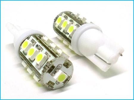 Lampadina Luci Di Posizione : T10 13 smd led luce di posizione