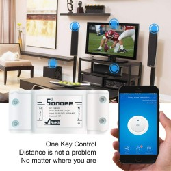 Sonoff Basic Wireless Smart Switch 10A Interruttore Intelligente WiFi Domestico Compatibile Con Amazon Alexa e Google Home