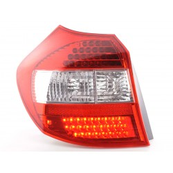 POSTERIORI LED BMW Serie 1 chiaro/rosso