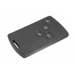 Chiave Telecomando Completa Smart key Card per Renault Koleos (2008-2012) Transponder 46 PCF7952/434MHz Fsk 4 Tasti VA2