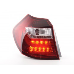 POSTERIORI LED BMW E87/E81 3/5 porte chiaro rosso