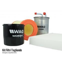 Kit Filtri Tagliando Fiat Grande Punto 1.9 JTD MULTIJET