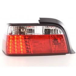 POSTERIORI LED BMW E36 Coupè da 91 a 98 rosso/bianco