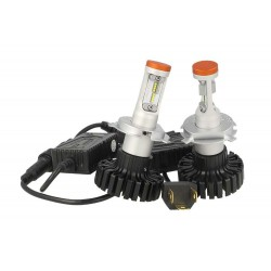 Kit Full Led H4 Canbus Bi-Luce 80/80W 12V 24V 16 Chip Phillips Z-ES