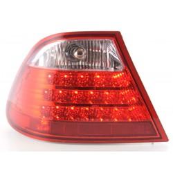 POSTERIORI LED BMW E46 Touring da 97 a 02 chiaro/rosso
