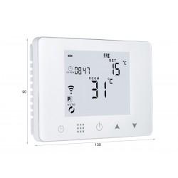 Termostato Digitale Programmabile Per Caldaia A Gas Murale Da Parete Scatola 503 Riscaldamento Termosifone Ad Acqua WiFi Compat