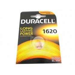 Pila Batteria Lithium A Bottone Duracell Litio 1620 DL1620 CR1620 ECR1620 3V Per Telecomando Auto