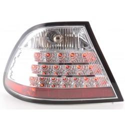 POSTERIORI LED BMW serie 3 Coupe 97 a 02 cromato