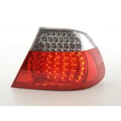 POSTERIORI LED BMW serie 3 Coupe 03 a 06 chiaro rosso
