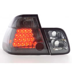 POSTERIORI LED BMW serie 3 Coupe 01 a 05 nero
