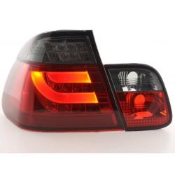 POSTERIORI LED BMW serie 3 Berlina 02 a 05 rosso nero