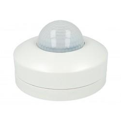 Sensore di Movimento a Infrarossi e Crepuscolare Montaggio a Plafone Carcassa Bianca 360 Gradi IP20 SKU-4968