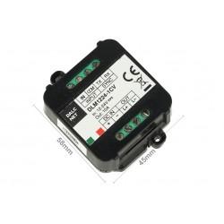 Dalcnet DLM1224-1CV Led Dimmer Master Slave Amplificatore PWM 12V 24V 10A Pulsante N.O. 0/1-10V Potenziometro