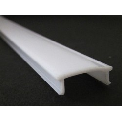 Diffusore Copertura PC Bianco Latte Opale Per Profilo Alluminio Strip Led Universale 1 Metro