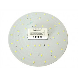 Piastra Led Plates 15W Bianco Caldo 220V 210mm Con Calamite Ceiling Light Modification Board Per Plafone