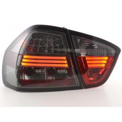 POSTERIORI LED BMW serie 3 E90 05 a 08 nero