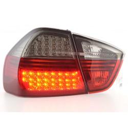 POSTERIORI LED BMW serie 3 E90 05 a 08 nero rosso