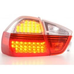 POSTERIORI LED BMW serie 3 E90 05 a 08 rosso/chiaro