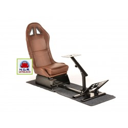 Simulatore Sediolino con moquette EGAMING BROWN
