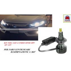 KIT LED H7 H1 PER FARO LENTICOLARE illuminazione 360°