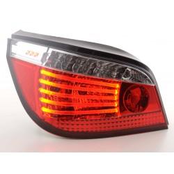 POSTERIORI LED BMW serie 5 E60 03- rosso/chiaro
