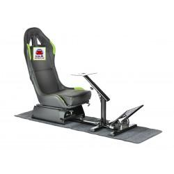 Simulatore Sediolino Nero/verde EGAMING