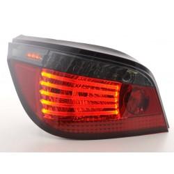 POSTERIORI LED BMW serie 5 E60 03- rosso/nero