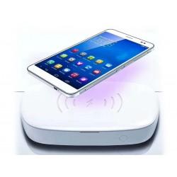 Sterilizzazione Caricabatterie Wireless QI Veloce LED UV