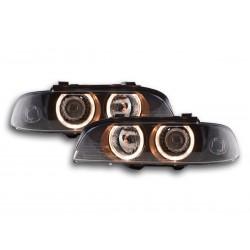 BMW Serie 5 E39 con angel eyes 95 a 00 NERO