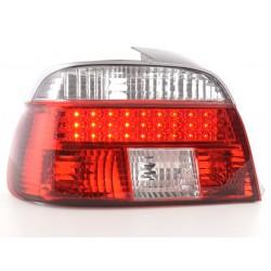 POSTERIORI LED BMW serie 5 E39 95-00 chiaro/rosso