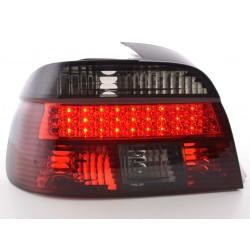 POSTERIORI LED BMW serie 5 E39 95-00 nero/rosso