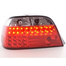 POSTERIORI LED BMW Serie 7 E38 95- chiaro/rosso