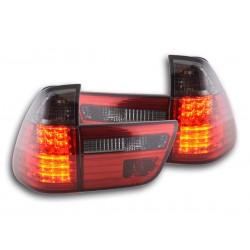 POSTERIORI LED BMW Serie 7 E38 98-02 NERO