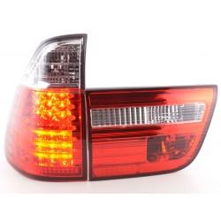 POSTERIORI LED BMW X5 E53 98-02 CHIARO/ROSSO