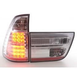POSTERIORI LED BMW X5 E53 98-02 Cromato
