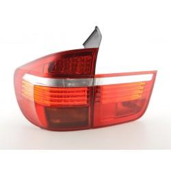 POSTERIORI LED BMW X5 E70 06-10 CHIARO/ROSSO