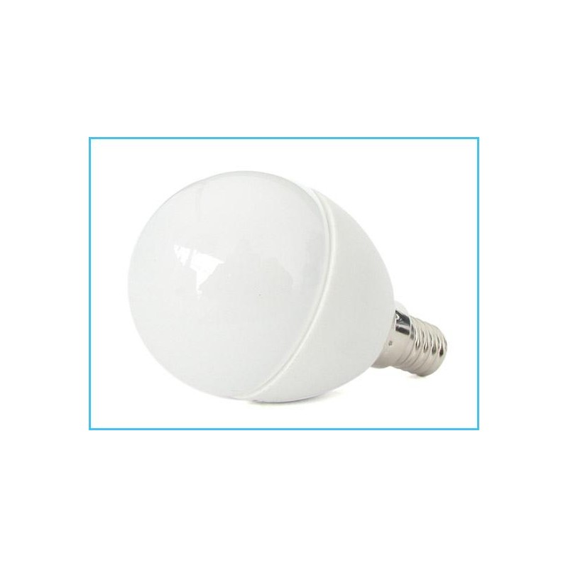 Lampada a led e14 p45 6w forma sfera bulbo pallina 240 220v for Lampada led e14