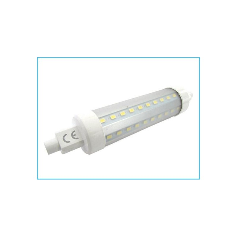 Lampada led r7s lineare 118mm 10w for Lampada led lineare r7s