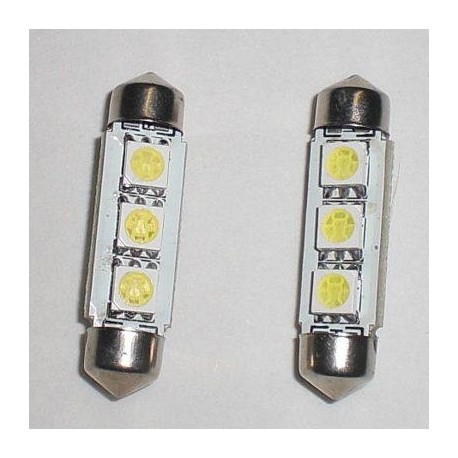 Lampada LED T11 C5W 38mm 3 SMD 5050