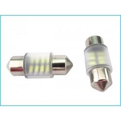 T11 C5W 6 SMD 5050 12V LED