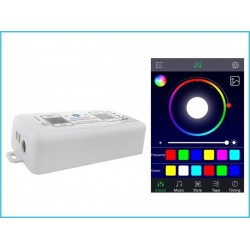 Centralina Led Dimmer RGB RGBW Bluetooth Controller Domotica