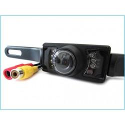 Telecamera Portatarga Infrarossa Stagna IP65 7 Led 12V