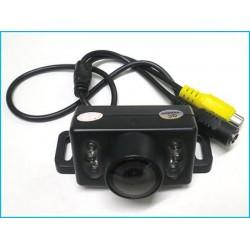 Telecamera Portatarga Retromarcia Con 6 Led Infrarosso Impermeabile