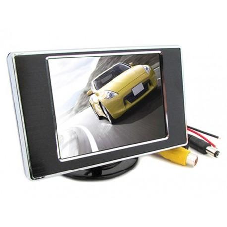 Monitor Slim TFT LCD 3,5'' A Colori Per Telecamera Retromarcia