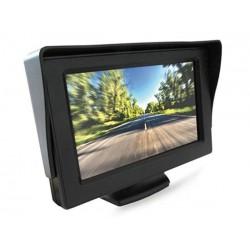 Monitor TFT LCD 4,3'' Slim Orientabile a 160° Doppio Ingresso