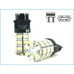 T25 3157 P27/7W 60 Smd Dual Color Bianco